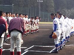 福知山成美と日南学園の練習試合