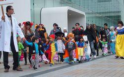 ハロウィーン仮装パレード