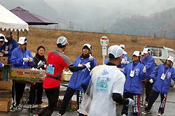 多くのボランティアが支えた福知山マラソン
