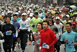 1万人が参加する福知山マラソン