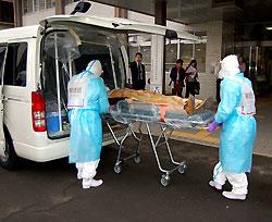 エボラ出血熱訓練