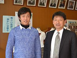 福知山成美高校出身の島本浩也投手