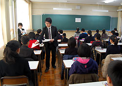 福知山高校付属中学校入学考査