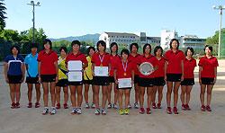 福知山成美�女子ソフトテニス部