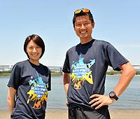 浅尾美和さんと朝日健太郎さん