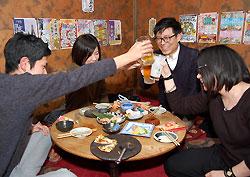 飲み放題10円にかんぱーい!