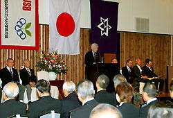 団創設50周年の記念式典
