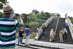 """福知山城などを視察"""""""