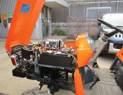 電動トラクター