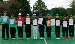 福知山ジュニアクラブの選手