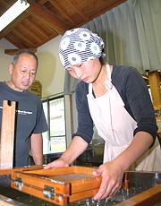田中製紙後継者の山田さん
