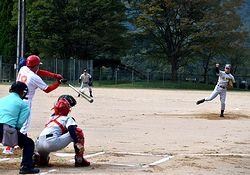 福知山倶楽部の荻野投手