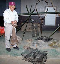 漁具を所有する井上さん