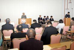 京都府議会議員補欠選挙立候補予定者説明会