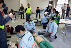 救急隊員訓練