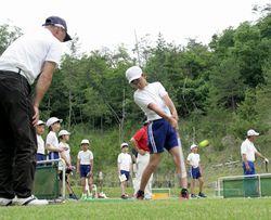 ゴルフの練習