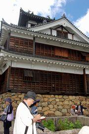 福知山城を吟行