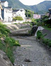 干上がった弘法川