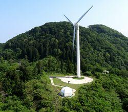 太鼓山風力発電所