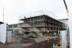 三和学園の新校舎建設