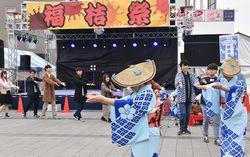 学祭で福知山踊り
